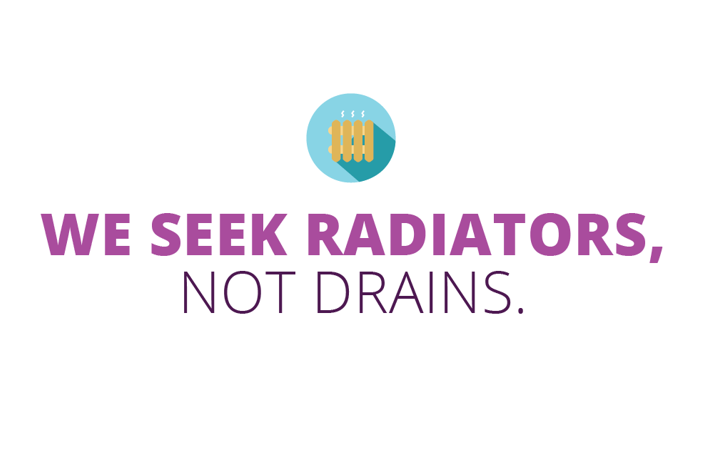 Radiators not drains