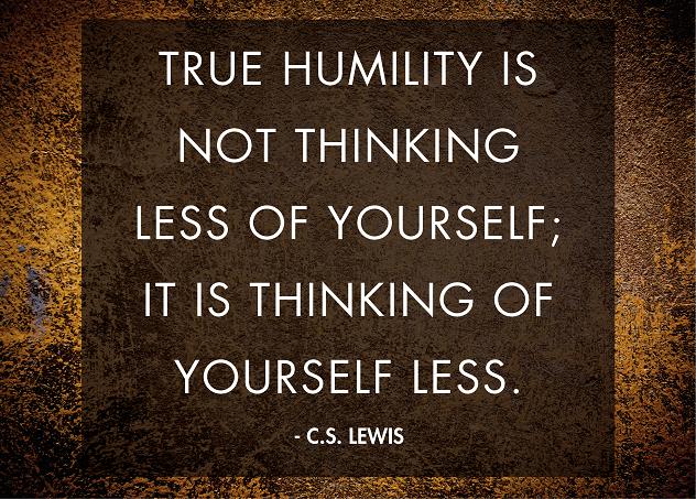 True humility  1