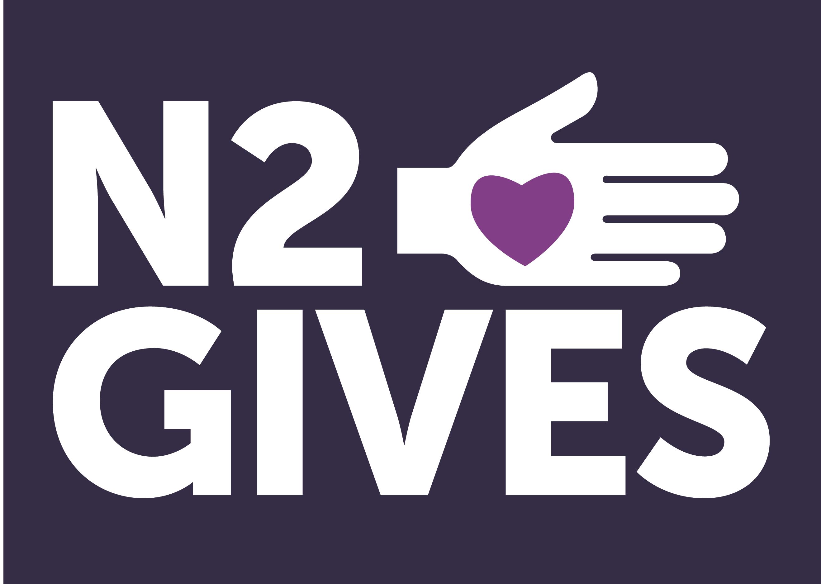 N2 gives logo full